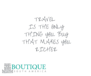 Boutique SA rich travel