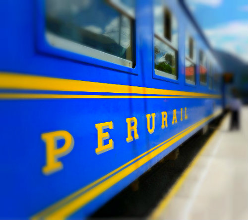 iBoutique South America Peru train