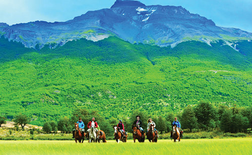Boutique South America Patagonia Horse riding