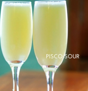 Boutique South America Peru Pisco Sour