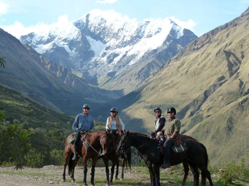 Boutique South America Peru horse trek