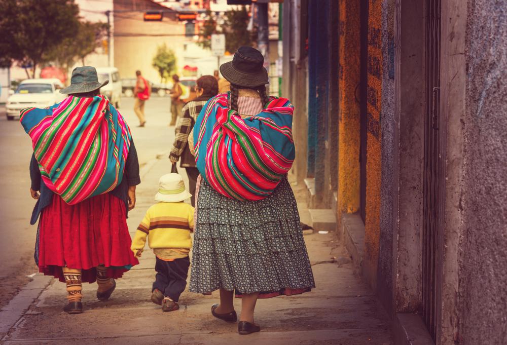 Bolivia culture cholita