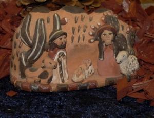 nativity scene in south america